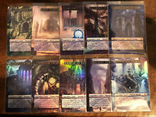 10 Devotion Lands Full Art Land swamp island plains Dual Theros mtg Magic Fetch