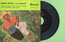 EMILIO REYES / Merengue Emblema Nacional BRUNSWICK 10721 EPB Pr Spain 1962 EP EX