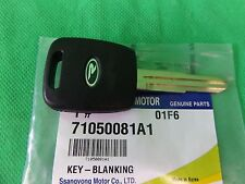 GENUINE SSANGYONG MUSSO SPORTS UTE ALL MODEL KEY - BLANK IMMOBILIZER + REMOTE