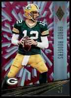 2016 PANINI PHOENIX PINK AARON RODGERS GREEN BAY PACKERS #39 PARALLEL