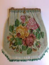Vintage victorian beaded bag