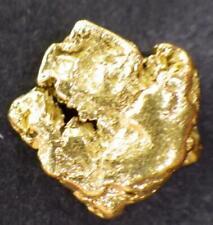 GOLD NUGGET  Natural Alaska Placer 1.37 GRAMS AK Hunter Creek Hi Purity