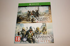NEU Assassins-Creed-Unity + IV Black Flag Spiel für XBox ONE -Fullgame Download