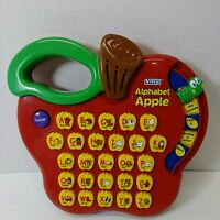 VTech Alphabet Apple Learning Letters ~ Letter Sounds Music & More
