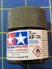 Tamiya Xf-74 Od (Jgsdf) 10ml #81774 Acrylic Paint Ships from Usa
