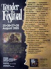 TONDER FESTIVAL - 2005 - Konzertplakat - Capercaillie - Oysterband - Dänemark