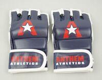 Anthem Athletics PREDATOR MMA Gloves - Blue,White, and Red, Medium