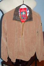 Windbreaker Lined Ladies Jacket by Sunderland of Scotland Camel w/ Snake Collar