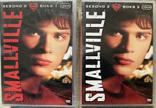 Smallville Season 2 Complete In 2x Dvd Box Sets. New Sealed