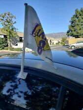 Licensed Laker car flag customize with Kobe Bryant All Star 8/ 24 jersey #