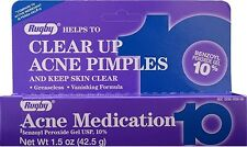 Rugby Acne Medication Gel Benzoyl Peroxide 10% 1.5 oz