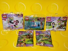 5 NEW LEGO FRIENDS POLY BAG & MINI ANIMAL SETS- Many more combinations listed
