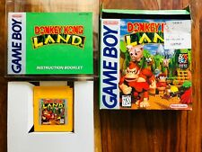 Donkey Kong Land Nintendo Gameboy CIB Complete Box Manual Very Good Beautiful!