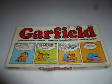 BOXED GARFIELD COMIC STRIP CAT BOARD GAME PARKER BROTHERS VINTAGE 1978 NO 116 >>