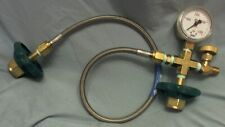 Broco PC/TFHBL Transfill Hose with Gauge and Bleed Valve