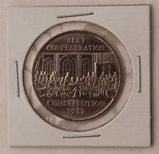 1867-1982 $1 One Dollar Canada; Confederation - Constitution Unknown circulation