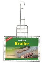 Coghlan's 8981 Deluxe Grill Broiler Basket, Chrome plated