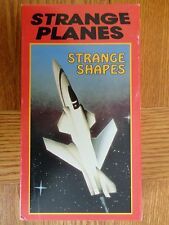 1990 Atlas Video The Discovery Channel STRANGE PLANES STRANGE SHAPES VHS Tape