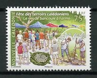 New Caledonia 2018 MNH Farino Candlenut Worm Fair 1v Set Cultures Nature Stamps