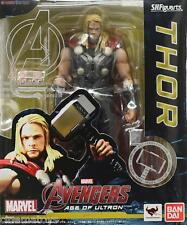 S.H.Figuarts Marvel Myghty Thor Avengers Age Of Ultron Action Figure BANDAI