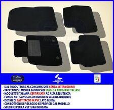 4block MAZDA 323 BJ DAL 1998 AL 2003 TAPPETI AUTO tappetini posteriori uniti