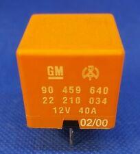 Opel Vauxhall Multi-Use 5-Pin Orange Relay GM 90459640 22210034 12V OEM