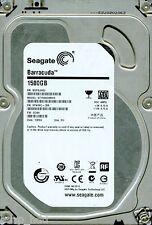 SEAGATE SATA 1.5TB ST1500DM003,  9YN16G-306,   CC4H,  SU,  W2F