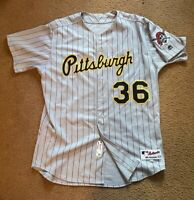 Pittsburgh Pirates Throwback Jersey - Game Used -MLB- Brad Fischer Size 50