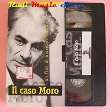 film VHS cartonata IL CASO MORO G. M. Volontè L'UNITA' 1986 (F36) no dvd*