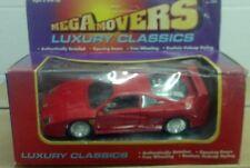 Mega Movers Luxury Classics 1/24 1987 Ferrari F40 NIB RED New Vintage Sports Car