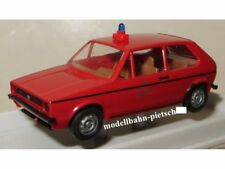 """Brekina Sondermodell VW Golf """"Berliner Feuerwehr"""" ( 255001 )  ,neu, OVP"""