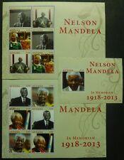 GUYANA 2013 Nelson Mandela Politik Staatspräsident Nobelpreis ** MNH