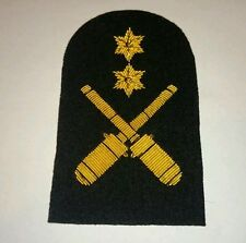 SEA CADET CORPS Cadet Drill gold wire Arm Badge SCC
