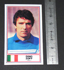 FOOTBALL 1983-1984 DINO ZOFF JUVENTUS ITALIA MANTOVA NAPOLI CALCIO PANINI