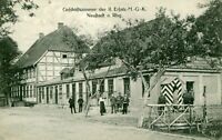 AK Neustadt Rübenberge Geschäftszi. der II. Ersatz M.G.K. Feldpost 1918 Personen