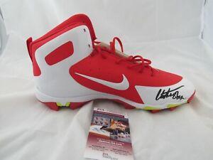 Kansas City Chiefs Christian Okoye Signed Autographed Left Cleat NIKE