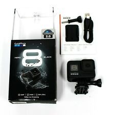 NEW (open box) GoPro HERO 8 Black 12MP Waterproof 4K Camera Hypersmooth 2