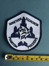 "ROYAL AIR FORCE 19 SQUADRON ""PHANTOM PHIXERS"" PATCH."