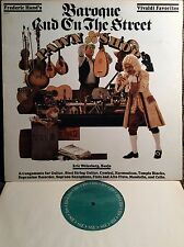 FREDERIC HAND Baroque And On The Street EX+ CBS FM-36687 LP