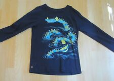 Boys Tea Collection Loch Ness Monster shirt 10 12 Fall Winter