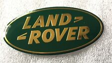 NEW LAND ROVER GREEN & GOLD TRUNK EMBLEM TAILGATE GRILL NAMEPLATE DECAL