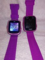 Two Vtech Kidizoom Smartwatches (DX & DX2)