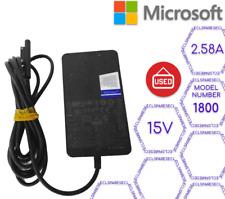 Genuine Microsoft Adapter 15V, 2.58A, Model 1800 (EUX14255)