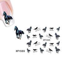 Wonderful Sticker Water Transfer Stickers Black Horse Decals Tips Decoration Pop
