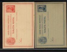 Venezuela  2  different  10 cent postal cards  unused        MS1024