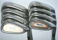 Cleveland TA5 irons 3-PW Tour Action with True Temper regular flex steel shafts