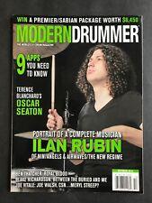 Modern Drummer Magazine October 2015 Ilan Rubin