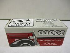 Spec Cast 1936 Dodge Fire Pumper Bank 1/28