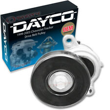 Dayco Drive Belt Pulley for 1999-2003 Chevrolet Tracker 2.0L L4 - Tensioner ab