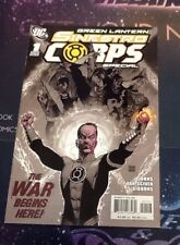 Green Lantern: Sinestro Corps Special #1 Variant Cover August 2007 NM (VCA119)